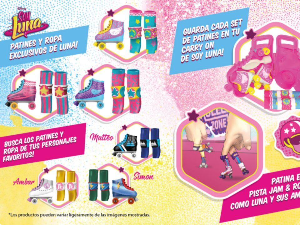 Disney - Mini Skates Soy Luna